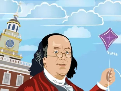 Ben Franklin Kite Experiment